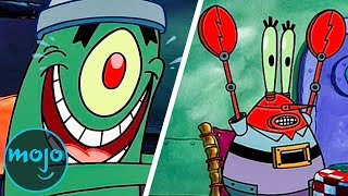 Top 10 Evil Plans By Plankton From SpongeBob Squarepants