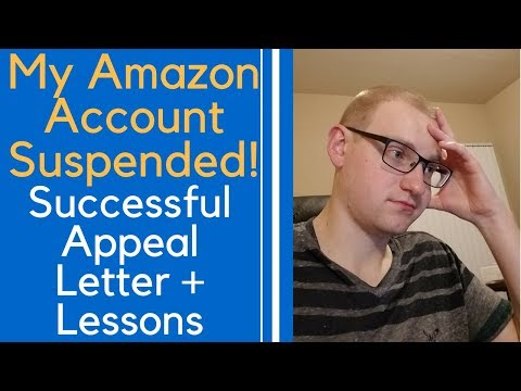 Amazon Account SUSPENDED! My EXACT Appeal Letter and Plan of Action. Amazon Suspension Appealed!