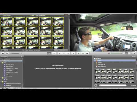 How to make a Time Lapse Video in iMovie 09 using Pictures
