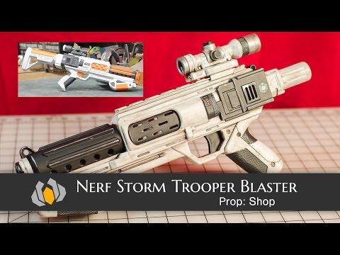 Prop: Shop - Nerf Stormtrooper Blaster Re-Paint