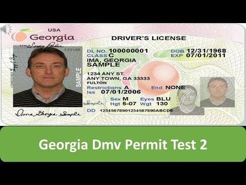 Georgia DMV Permit Test 2