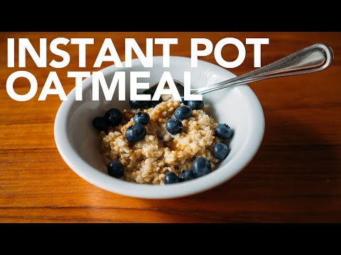 Instant Pot Fast Oatmeal