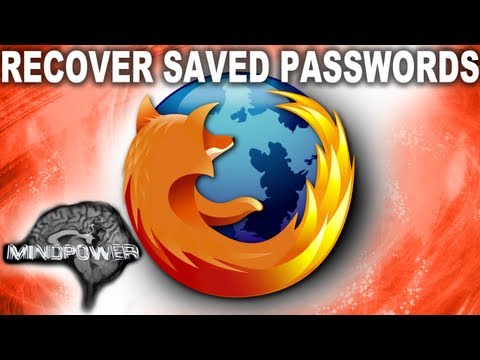 How to Recover Saved Passwords in Firefox - MindPower009