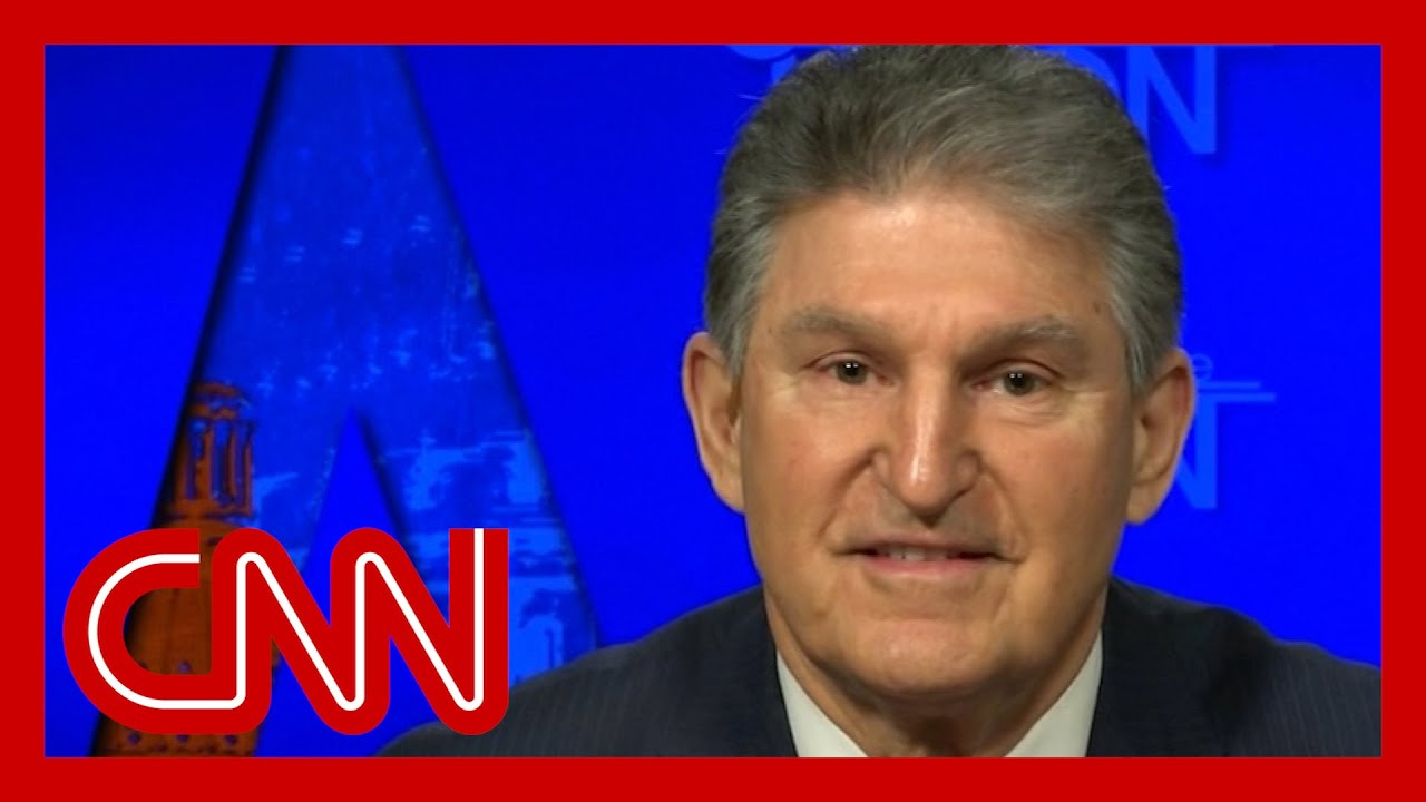 Sen. Joe Manchin explains why he wanted changes to relief bill