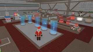 Roblox: A FÁbrica De Brinquedos Do Papai Noel! (christmas Tycoon)