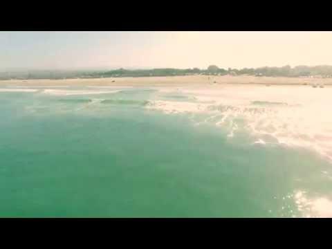 Drone shark footage