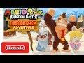 Mario Rabbids Kingdom Battle Donkey Kong Adventure DLC Gameplay Trailer Nintendo Switch