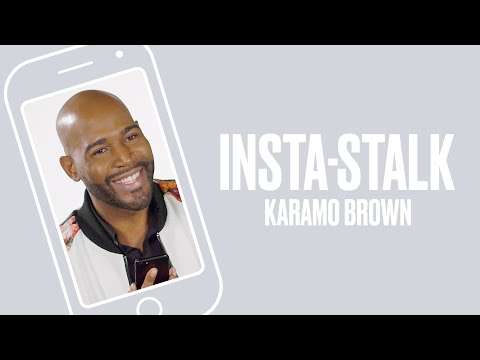 Queer Eye's Karamo Brown Insta-Stalks the Fab Five | ELLE