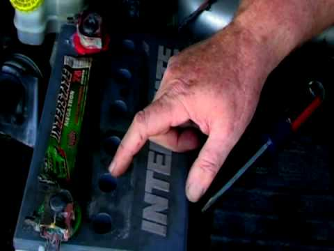 Basic Car Care : How to Add Water to a Car Battery