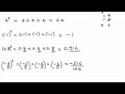 Cube and cube root - Introduction