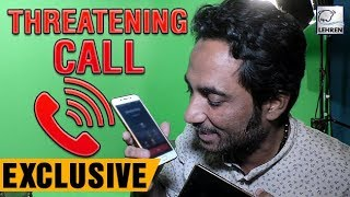 Bigg Boss 11 Contestant Zubair Khan GetsThreatening Calls, Caught LIVE On Lehren Camera