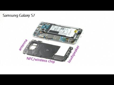 Samsung Galaxy S7 Antenna,NFC,Loudspeaker Modules Repair Guide