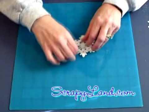 3D Spellbinder Snowflake Ornament