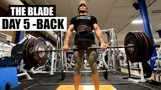THE BLADE |DAY 5- BACK & CARDIO | 12 weeks cutting program by JEET SELAL, ft. Lilian Dikmans