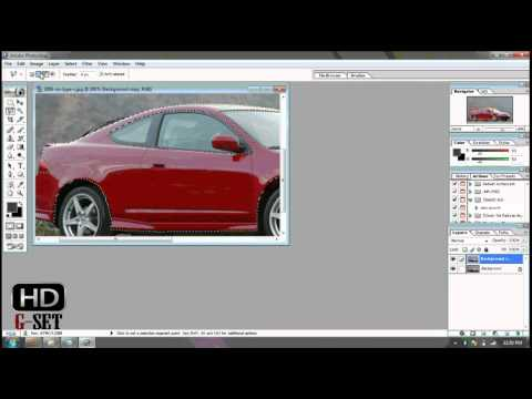 How to Change Color Of Car in Adobe Photoshop 7