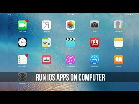 Run iOS Apps/Games on Computer! [How to]
