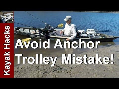 Don't Make this Anchor Trolley Mistake Kayak Fishing