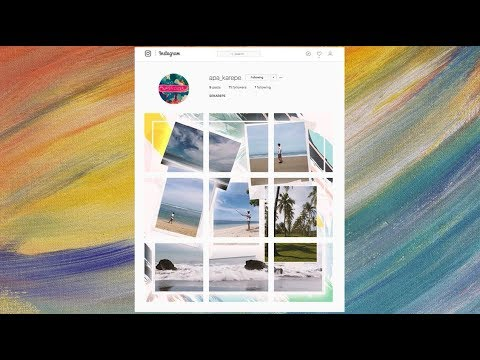 How to Create Multi-Image Instagram Collages - Adobe Photoshop