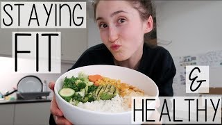 UNI VLOG | HOW TO STAY FIT & HEALTHY AS A STUDENT | DIET, FOOD & FITNESS
