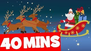 Up on the Housetop and More | 40 mins Christmas Songs Collection for Kids