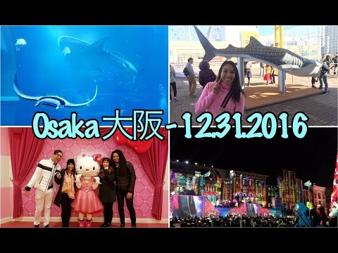 Whale Sharks at the Osaka Aquarium Kaiyukan | New Year's Countdown at Universal Studios