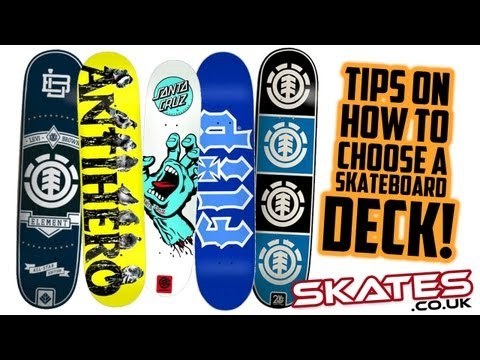 How To Pick A Skateboard Deck | Skates.co.uk Tutorial