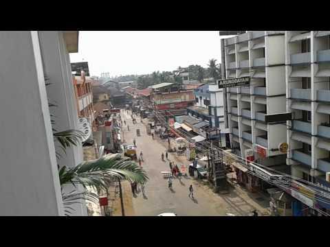 Guruvayur Temple View from Elite Hotel Kerala