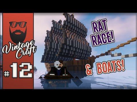 VintageCraft SMP #12 - Rat Racing VintageBeef!
