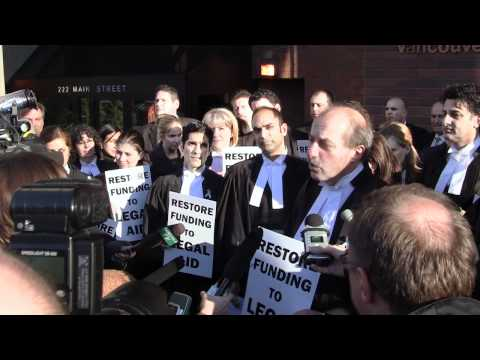 The Battle for Legal Aid in BC