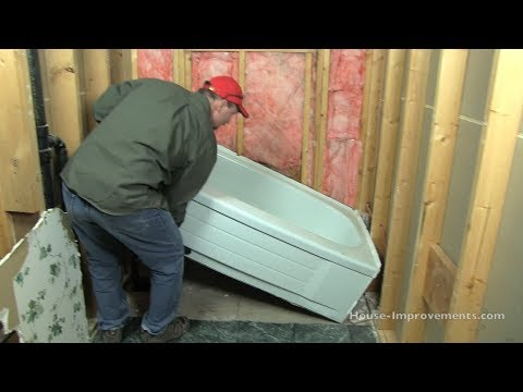 How To Remove a Bath Tub