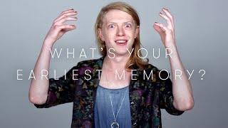 100 People Tell Us Their Earliest Memory | Keep it 100 | Cut