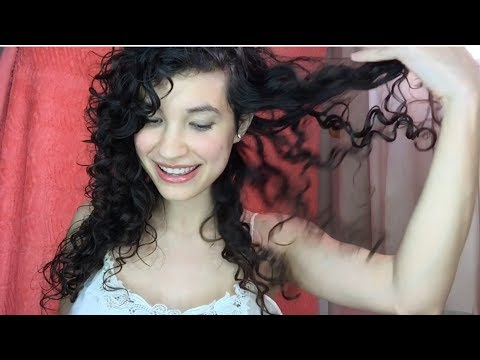 Watch my curls TRANSFORM! (Remove hard water buildup + make curls defined!)