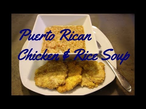 How to Make Puerto Rican Heavy Chicken and Rice Soup Recipe [Episode 244]