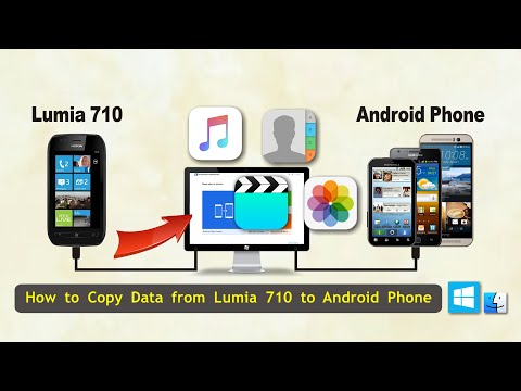 How to Copy Data from Lumia 710 to Android Phone, Sync Lumia 710 Contacts with Android