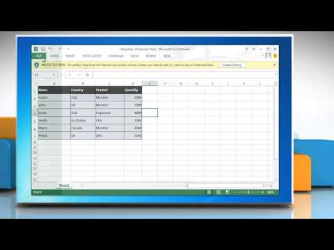 How to disable Protected View for downloaded Excel 2013 worksheets
