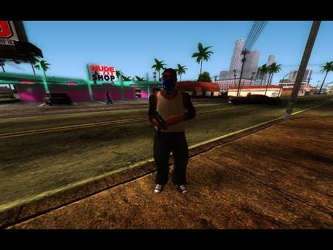 HOW TO INSTALL PED MODS GTA SAN ANDREAS
