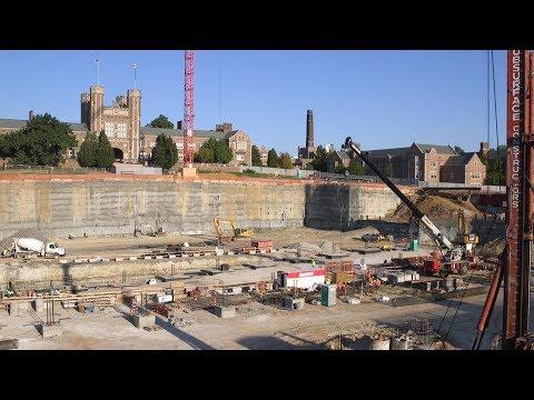 East End Transformation: End of Excavation, Sept. 2017