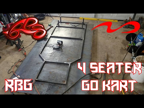 4 Seater Kids Go Kart Build Ep. 1