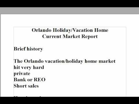 (Buy Orlando Vacation Homes)Part 1