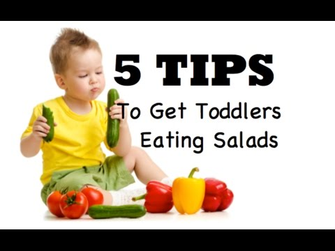 How to get your toddler to eat a salad? 5 tips !💛