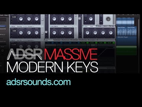 NI Massive tutorial - Modern Key Sound Design (Use Instead Of Boring Plucks!)