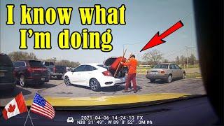 Road Rage USA \u0026 Canada | Bad Drivers, Hit and Run, Brake check, Instant Karma, Car Crash | New 2021
