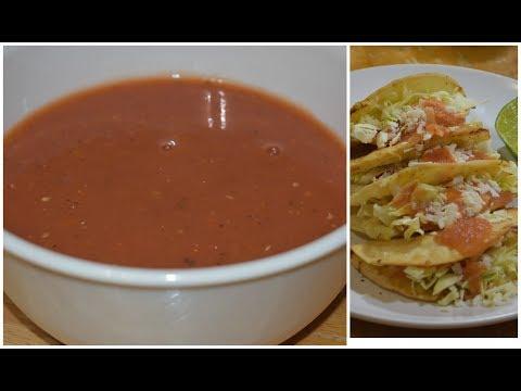 Salsa de Tomate | Consome para Tacos Dorados, Tostadas, Sopes, Flautas