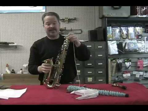 Proper Way To Clean Your Saxophone