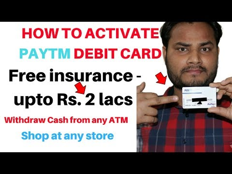 PayTm sent me Debit Card Paytm| Paytm Payments Bank Debit & ATM Card | Unboxing | Activation Process