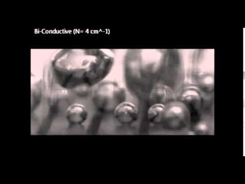 Increasing Boiling Heat Transfer using Low Conductivity Materials