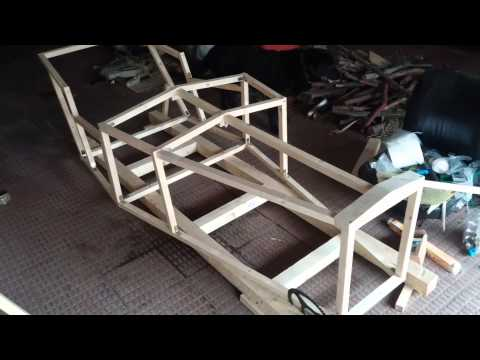 Parte 2 How to build a Homemade Car - Como construir un Coche Casero