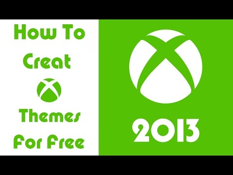How Create your Own Xbox 360 Themes easily