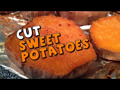 CUT Sweet Potatoes Recipe (Similar to Waffle Fries)