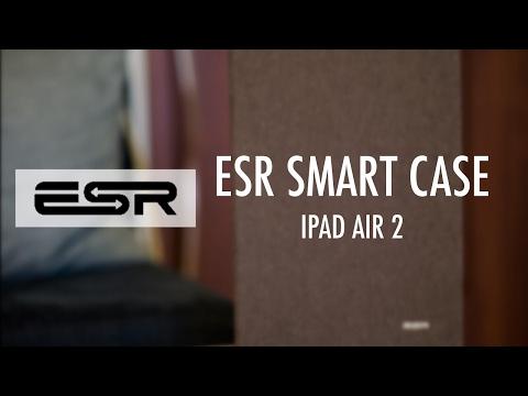 ESR PU Leather Smart Case - iPad Air 2 Best Case